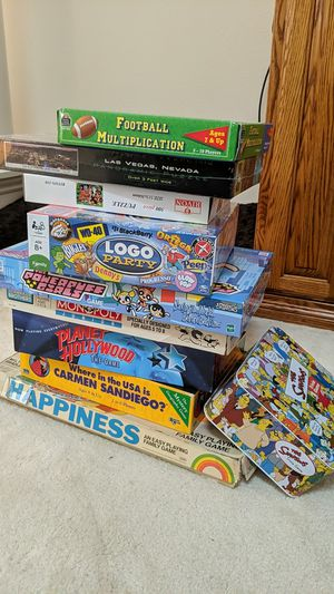 Board Games & Puzzles for Sale in Castro Valley, CA