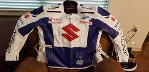 Suzuki Leather Motorcycle Jacket 3XXL Brand New for Sale in Pasadena, TX