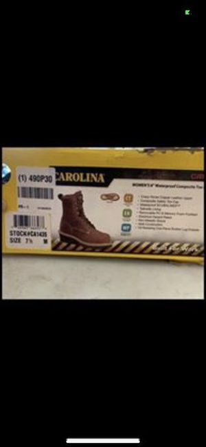 Carolina work boots for Sale in Orient, OH