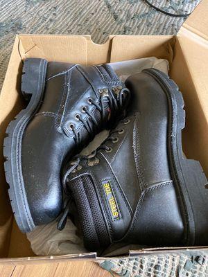 Brand new, never worn Brahma Steel Toe Work Boots for Sale in Wesley Chapel, FL