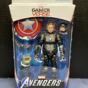 Marvel's Avengers Marvel Legends Captain America (Joe Fixit BAF) New box never open Product Features 6 inches (15.24cm) Made of plastic Video game for Sale in Los Angeles, CA