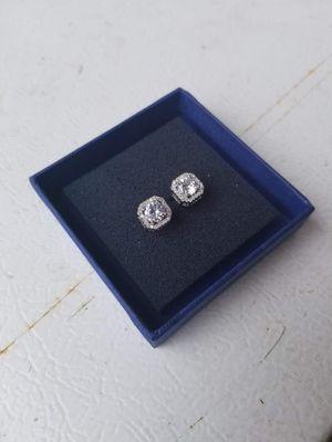 Classic diamond earrings for Sale in Gresham, OR