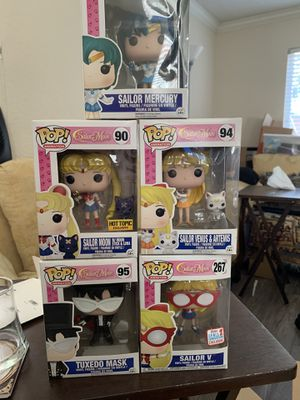 Sailor Moon funko pop bundle for Sale in Long Beach, CA