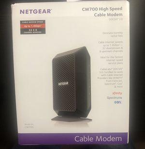 NETGEAR Modem CM700 for Sale in Bellevue, WA