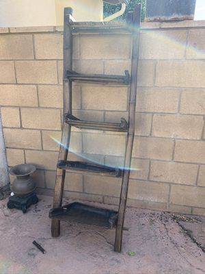 Rustic ladder shelf for Sale in Temecula, CA
