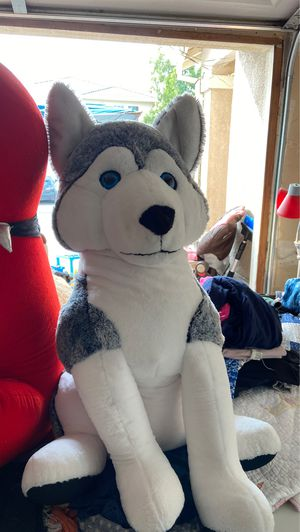 Stuffed animal husky for Sale in Pittsburg, CA