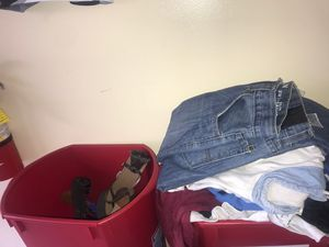 YES STILL AVAILABLE - ADDRESS IN DESCRIPTION MEN WOMEN CHILDREN CLOTHING WITH DEFECTS (hole or stain etc.) for Sale in Pompano Beach, FL