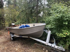 14ft aluminum boat (make offer) for Sale in Black Diamond, WA