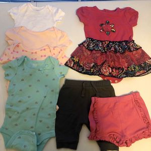 Baby girl clothes 3-6 mo old for Sale in Carrollton, TX