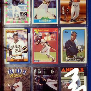 ☆BARRY BONDS BASEBALL CARDS☆ for Sale in Columbus, OH