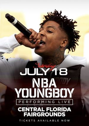 2 All access passes to NBA YoungBoy concert for Sale in Davie, FL