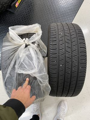 Pair (2) Tires Continental CONTIPROCONTACT 255/40R19 100H Grand Touring All-Season for Sale in Federal Way, WA