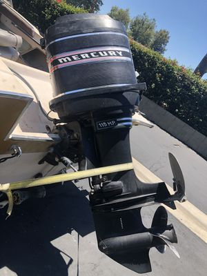 Mercury 115 horsepower six cylinder 2 stroke outboard for Sale in Rancho Cucamonga, CA