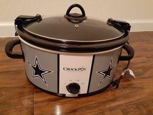 Crock-Pot Dallas Cowboys NFL-6 Quart Cook&Carry Slow Cooker for Sale in Murphy, TX
