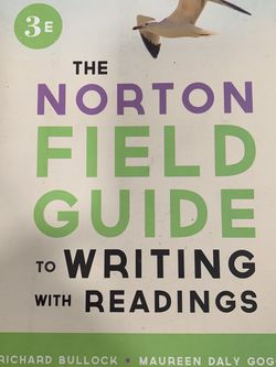 The Norton Field Guide To Writing With Readings for Sale in Temple City,  CA