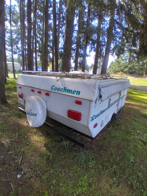 1999 coachman pop up trailer no title great shape for Sale in Rochester, WA
