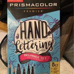 Prismacolor Hand Lettering Set for Sale in Marietta,  GA