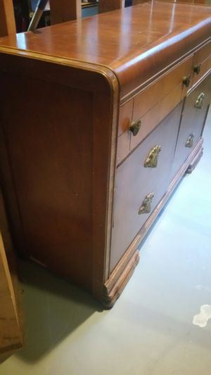 ANTIQUE WATERFALL DRESSER for Sale in Duluth, GA