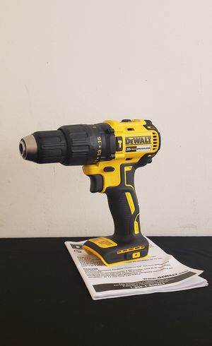 New Compact Drill Dewalt Brushless whit Hammer ONLY TOOL NO CHARGER OR BATTERIES FIRM PRICE for Sale in Woodbridge, VA