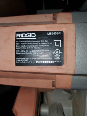 Chop saw Ridgid for Sale in Torrance, CA