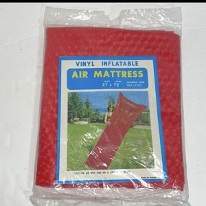 """Vintage pool floaty air mattress vinyl Inflatable 27""""x72"""" approx size deflated Made in Taiwan (Golden Whale) for Sale in Sparks, NV"""