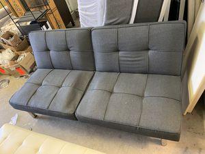Grey Futon for Sale in Rochelle Park, NJ