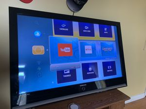 Tv Samsung 60 inch with PlayStation 3 for Sale in Bowie, MD