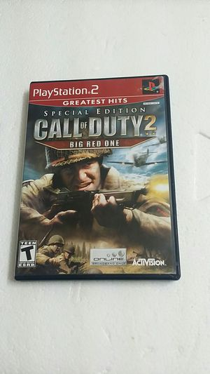 Call of duty 2 Big Red One Special Edition, PS2 for Sale in El Cajon, CA