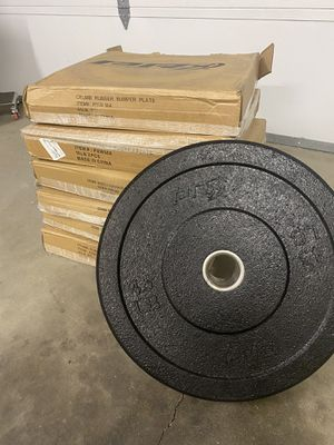 PRx Olympic bumper plate set for Sale in Livermore, CA