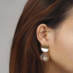 New Fashion Jewelry Big Brand Geometric Braid Ball Drop Earrings For Women Ear Bijoux Simulated Pearls for Sale in Tustin, CA