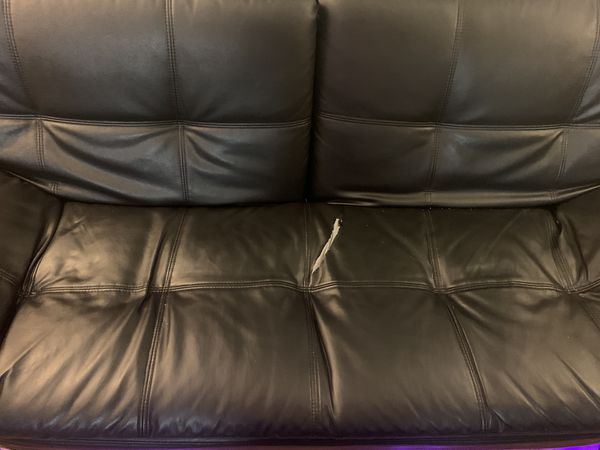 TV, Home theatre , Leather couch