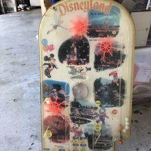 Vintage Disneyland Pinball Machine for Sale in Redlands, CA
