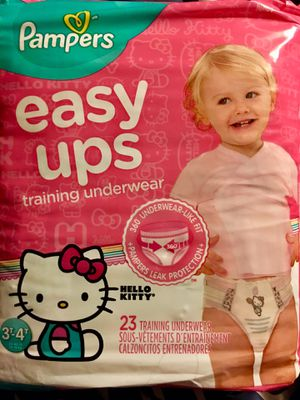 Pampers Easy Ups for Girls for Sale in Columbus, OH