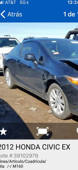 2012 Honda civic coupe ,,, for pars for Sale in Chicago, IL