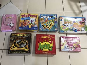 Lot of board games $10 for all for Sale in Wesley Chapel, FL