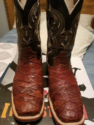 Botas de avestruz original 9.5 for Sale in Dallas, TX