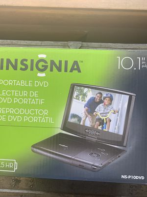 "Portable 10.1"" DVD Player by Isignia with a 5 1/2 hour charge. Brand new for Sale in Vancouver, WA"