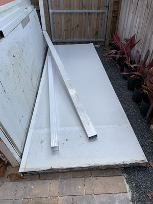 Aluminum Insulated Roofing panels, Beams and Posts for Sale in Miami, FL
