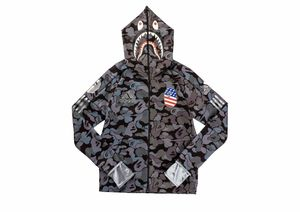 Brand new Adidas X Bape hoodie black camo for Sale in Sterling, VA