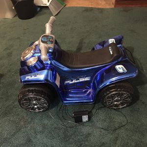 Pulse Battery Operated 4 Wheeler for Sale in Baxley, GA