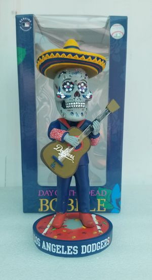 Los Angeles Dodgers Dia De Los Muertos Bobblehead for Sale in Lake View Terrace, CA