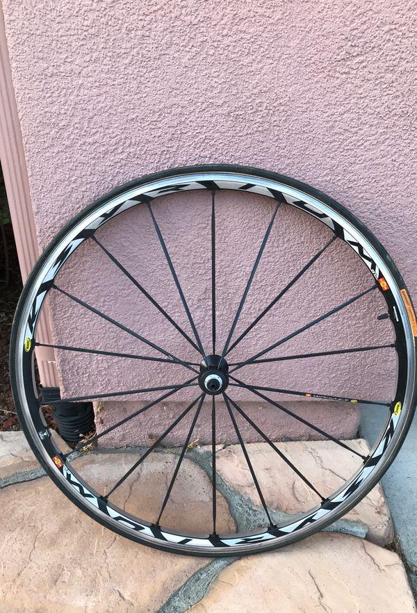 Mavic SSC road bike wheel set