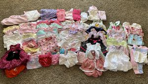 3-6 month baby girl lot for Sale in Wichita, KS