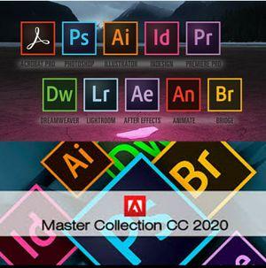 Adobe CC 2020 Master Collection (NO SUBSCRIPTION) for Sale in Winchendon, MA