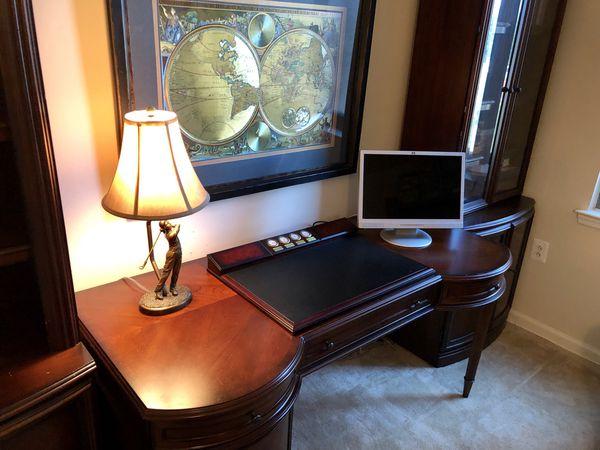 Computer Desk & Bookshelves ($185 each piece)