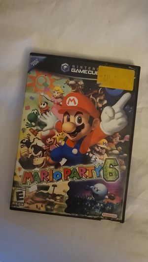 Mario party 6 for Sale in Hollywood, FL