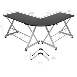 L Shaped Office Desk for Sale in Hollywood, FL
