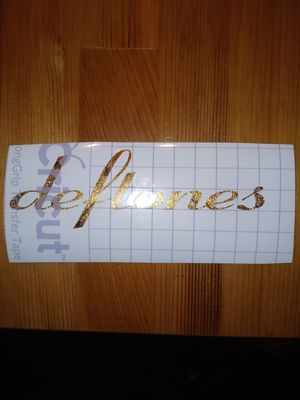 Deftones gold vinyl for Sale in Fontana, CA