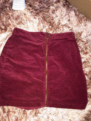Burgundy skirt for Sale in San Leandro, CA
