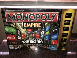 Monopoly Empire Board Game Sealed for Sale in Altadena, CA